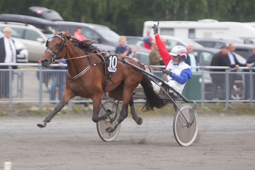 Diadora BR, og Thor Borg har et veldig fint løp foran seg på tirsdag. Foto: Anders Kongsrud/www.hesteguiden.com.