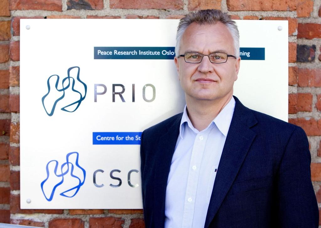 Kristian Berg Harpviken, direktør ved Institutt for fredsforskning (Peace Research Institute Oslo, PRIO)