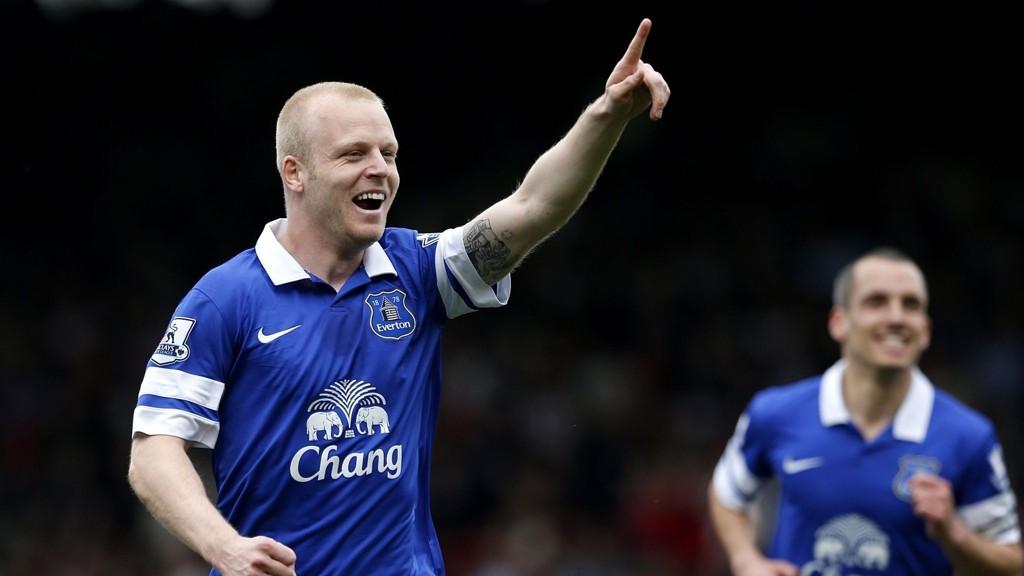 Evertons Steven Naismith har vært frisk i Premier League i høst og er en av Skottlands nøkkelspillere i EM-kvalifiseringen.