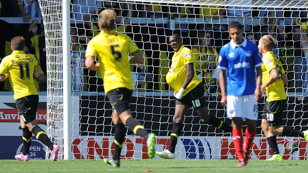En Portsmouth-spiller depper etter Burton-scoring tidligere i sesongen. Vi tror imidlertid på en opptur for de blåkledde i dag.