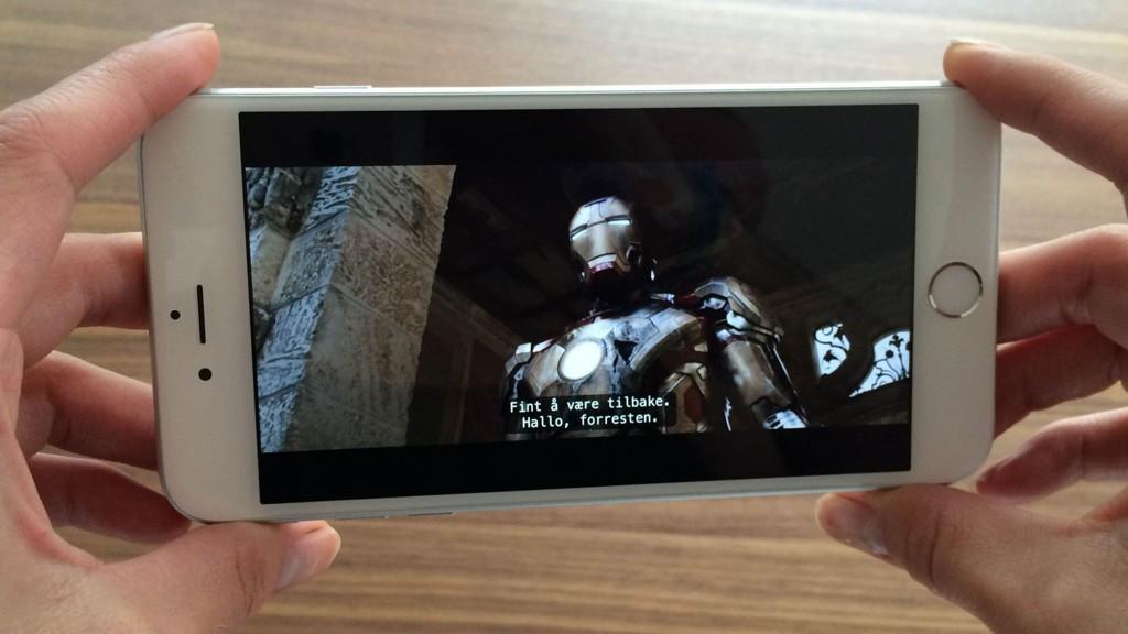 last skjerm iphone