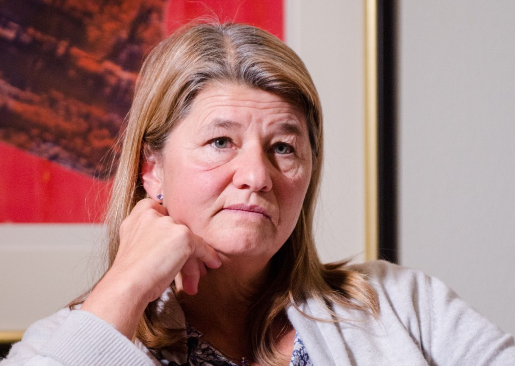 Her er konserndirektør i Statoil, Margrethe Øvrum, avbildet i fjor i forbindelse med håndteringen av Algerie-katastrofen.