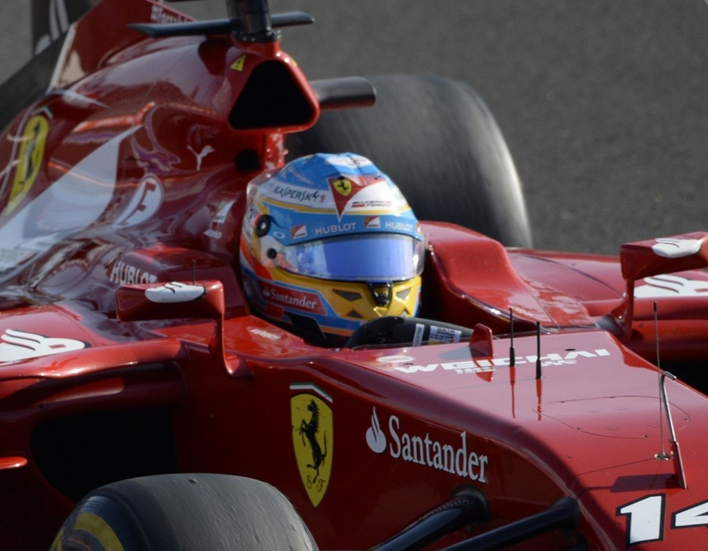 FERDIG. Fernando Alonso forlater Ferrari.