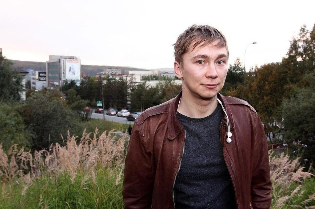 TILTALT: Bloggeren Aleksandr Serebrjannikov (28) - bedre kjent som Bloger51 - er tiltalt for å ha publisert rasistisk, antimuslimsk propaganda på sin nettside. Selv mener han nettsiden ble hacket av noen som ville sverte ham. Foto: Rune S. Alexandersen