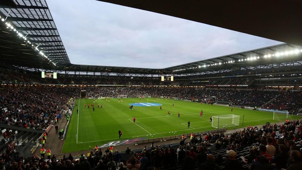 TOTTENHAM-BESØK: Tottenham kan komme til å dele stadion med MK Dons.