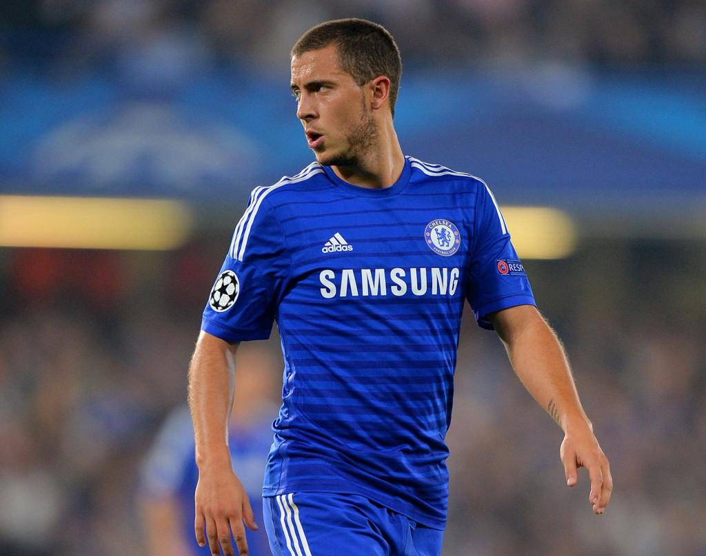 FORNØYD: Eden hazard tåler kritikken han får av Jose Mourinho.