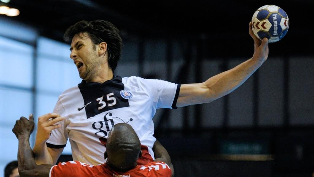 BET: Marko Kopljar bet en motstander i armen.