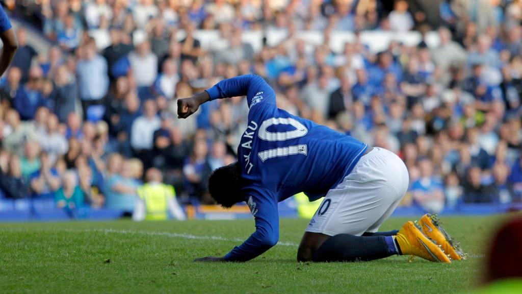Lite har gått Everton og Romelu Lukakus vei i sesongåpningen.