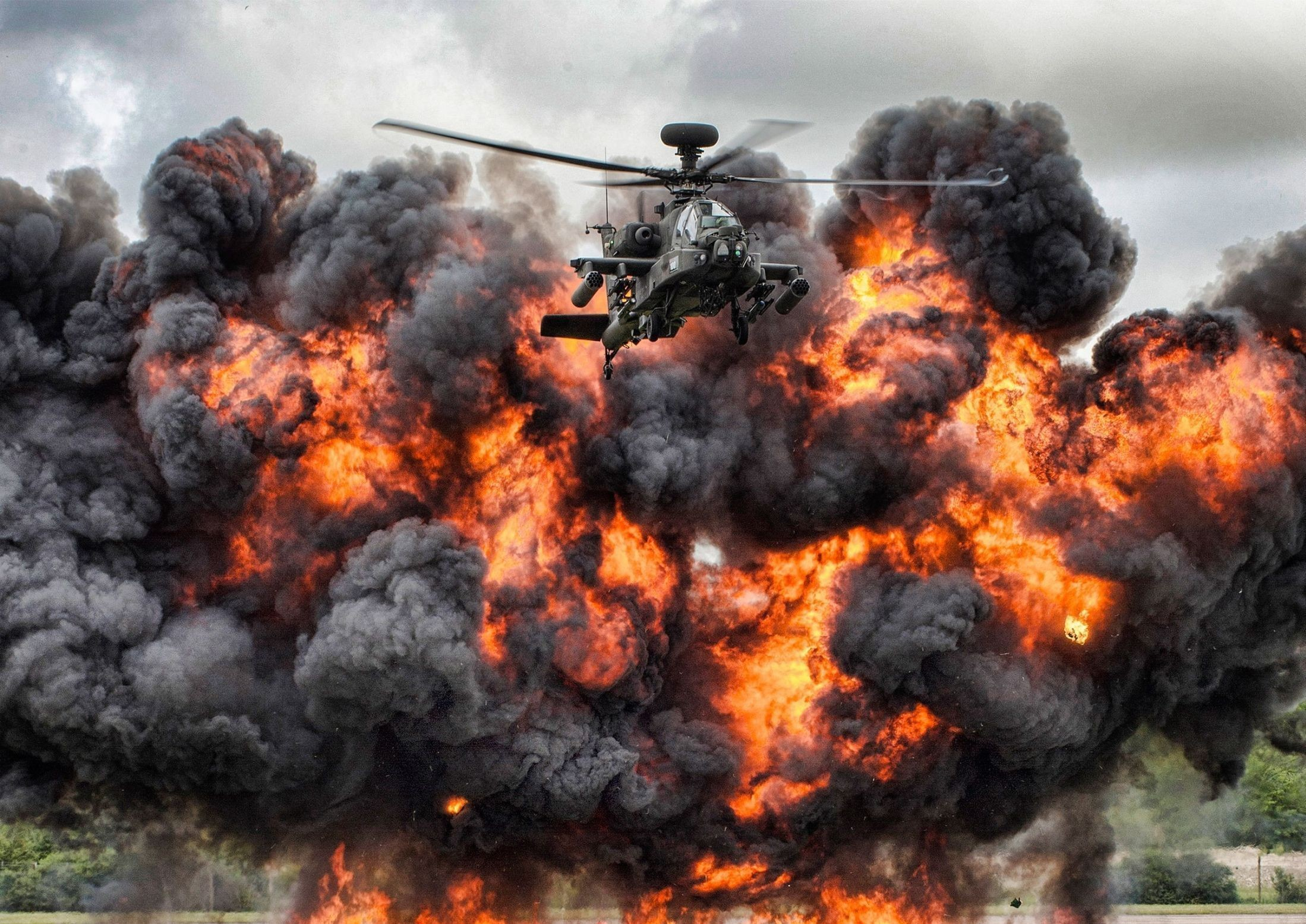'Fireball Flyers' by Corporal Jamie Peters which won Best Overall Image as voted for by the public.
