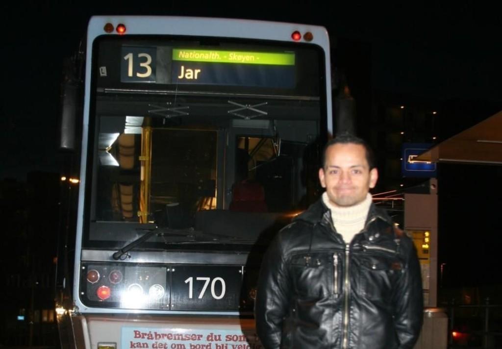 DANSER: 37 år gamle Julio Kopseng er kjent i dansemiljøet i Oslo. Han soner i dag en dom på tre år og seks måneders fengsel for to voldtekter.