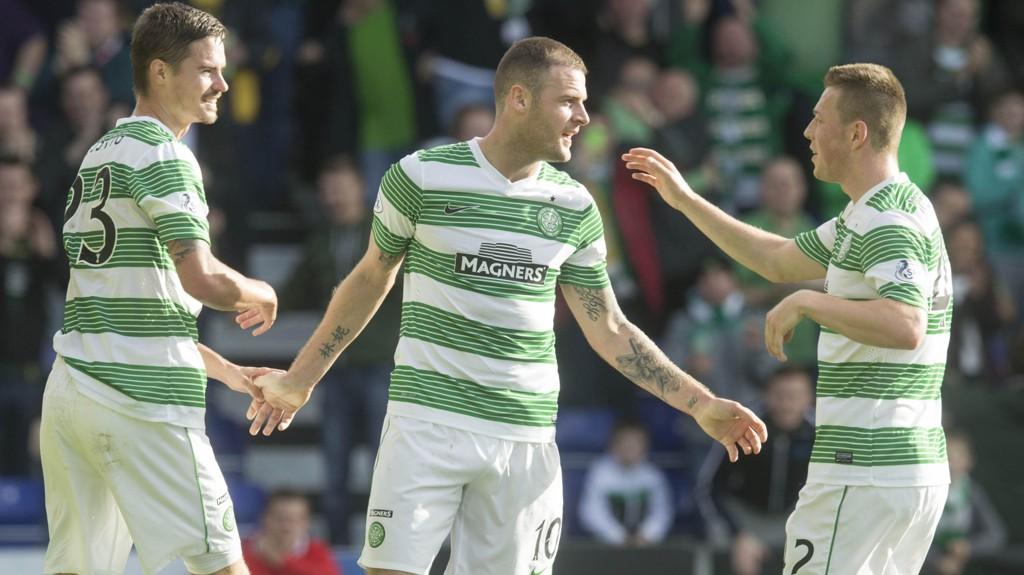 5-0: Celtic vant hele 5-0 mot Ross County lørdag.