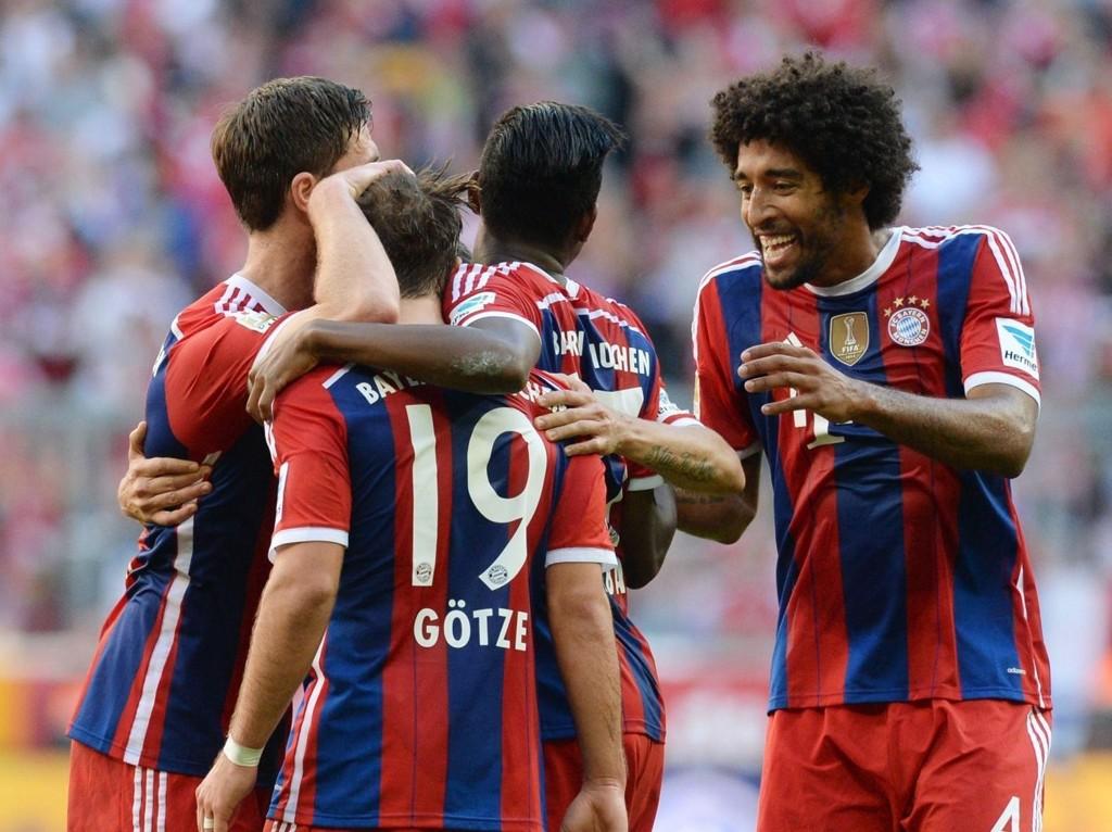 MÅLSHOW: Bayern Munchen vant hele 6-0.