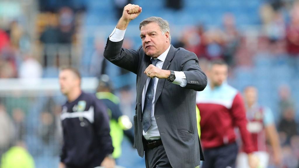 FJERDEPLASS: Big Sam og West Ham er oppe på en fjerdeplass i Premier League.