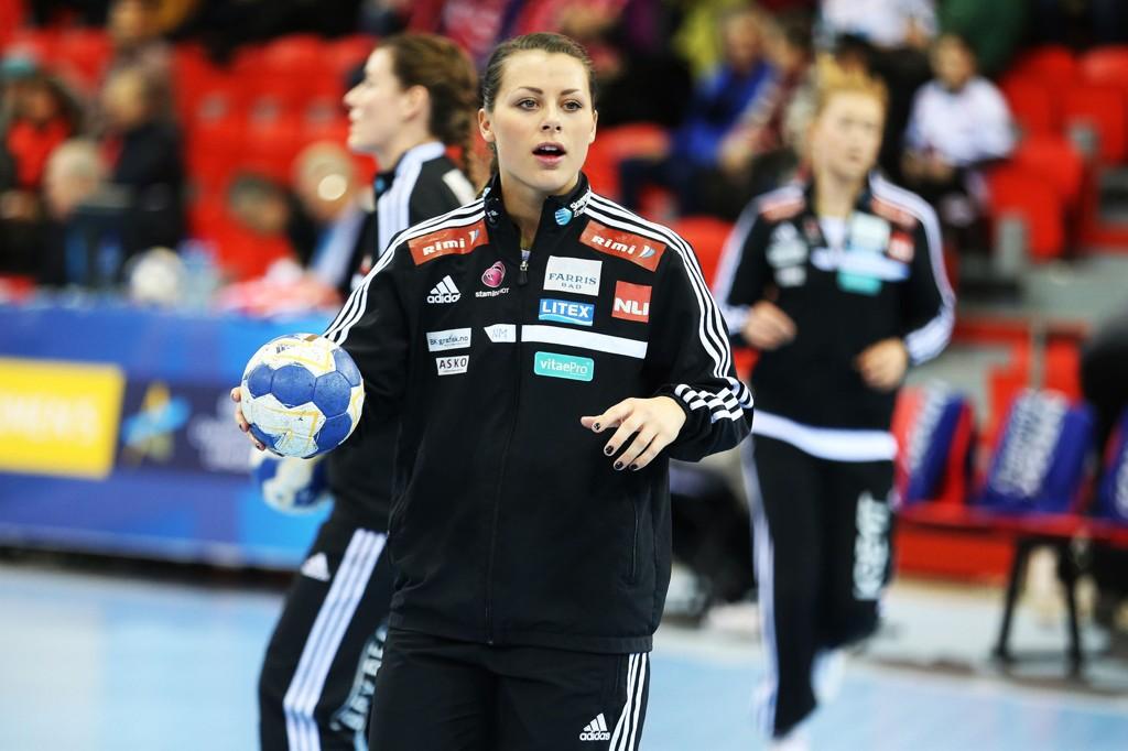 ELLEVE MÅL: Nora Mørk herjet i mesterligaen.