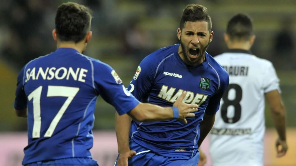 Saphir Taider og resten av Sassuolo-mannskapet tok en overbevisende seier borte mot Parma i helgen.