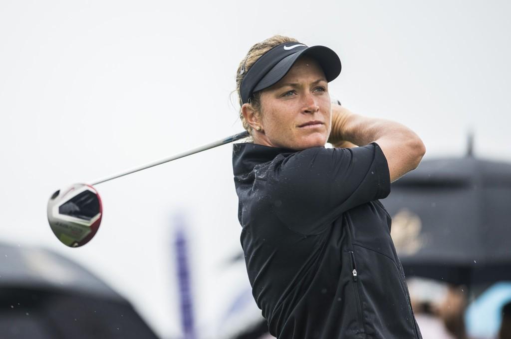 SANK SOM EN STEIN: Suzann Pettersen gikk en svak tredjerunde og falt til 33.-plass før den siste runden i Taiwan.