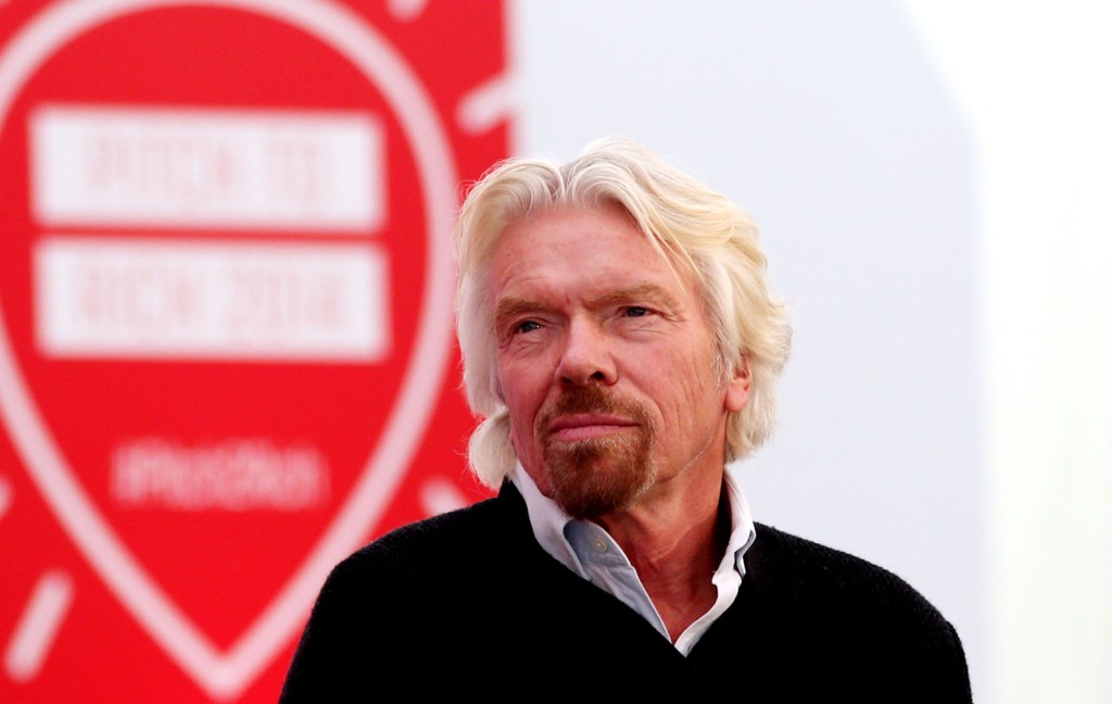 Sir Richard Branson hosts Pitch2Rich event at his home in Oxfordshire, where six entrepreneurs had the opportunity to 'Pitch to Rich' where they could win investment money and mentoring.