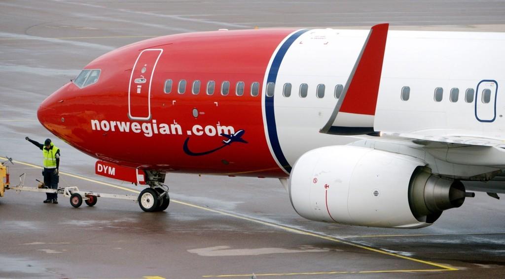 Norwegian permiterer piloter fra 1. desember.