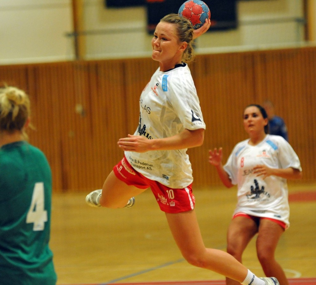 Tonje Strømmen scoret ni mål mot Vestli.