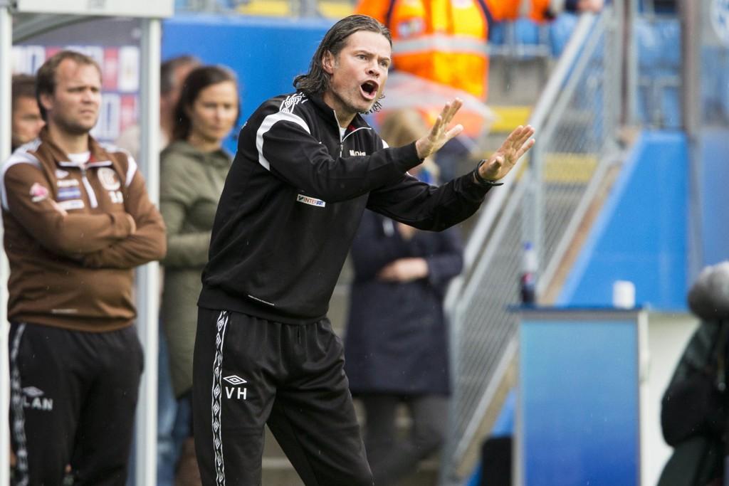 KVALIK: Vegard Hansen og Mjøndalen er én av fire lag som fortsatt kan rykke opp.
