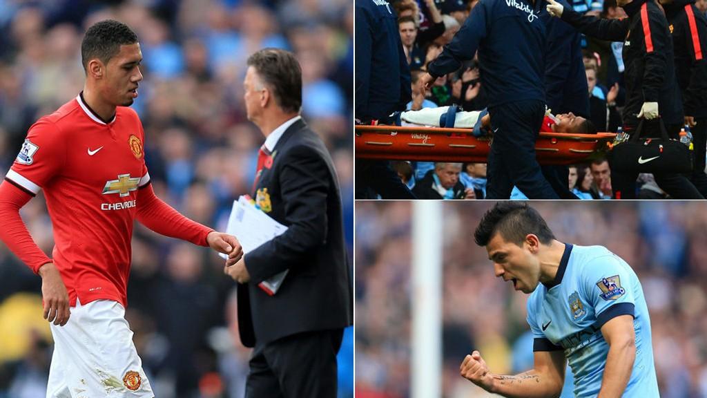 MYE MOTGANG: Lite gikk Manchester Uniteds vei på Etihad.