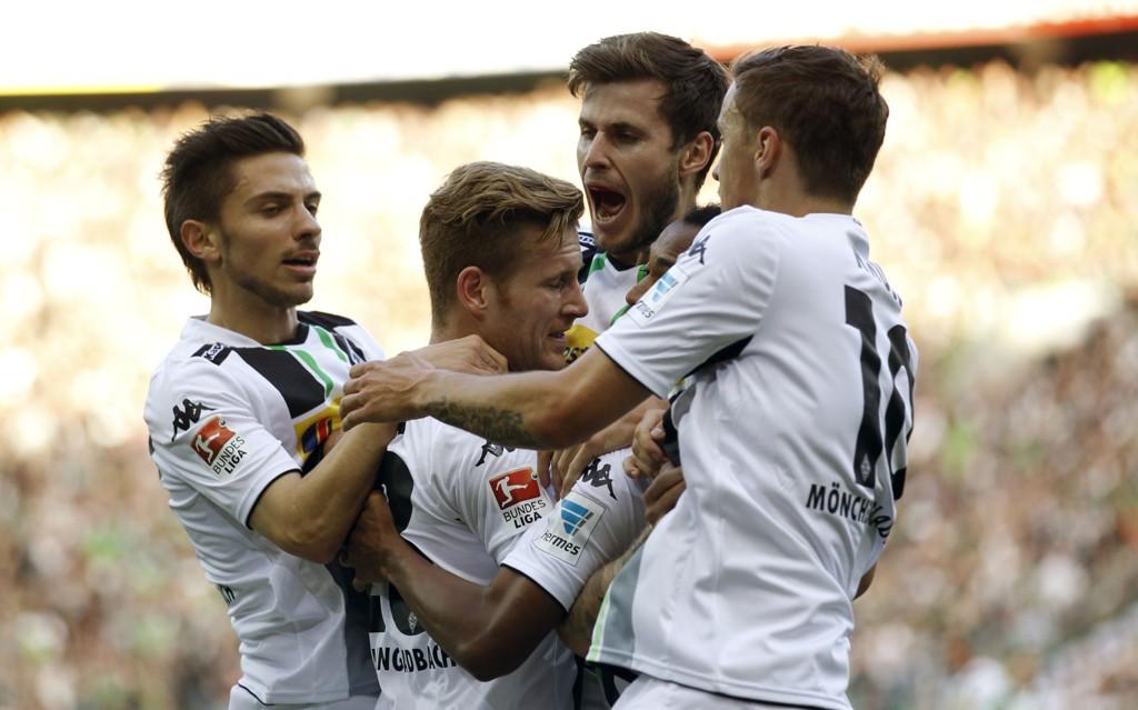 SEIRET: Borussia Moenchengladbach slo Hoffenheim søndag.