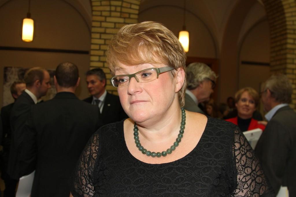 Hovedprioriteten i Venstres alternative statsbudsjett skal være miljø- og fattigdomssatsing. Partileder Trine Skei Grande.