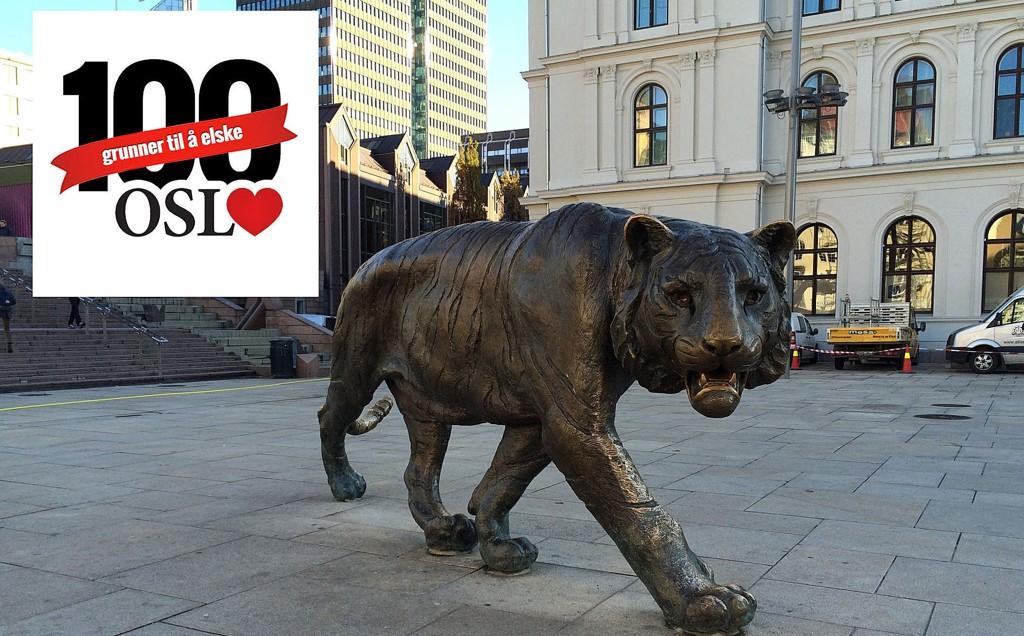 Tigerstaden er Oslos egne kallenavn, og selvsagt må vi sørge for å ha vår egen tiger. Når de tross alt ikke lever naturlig her, mener vi.