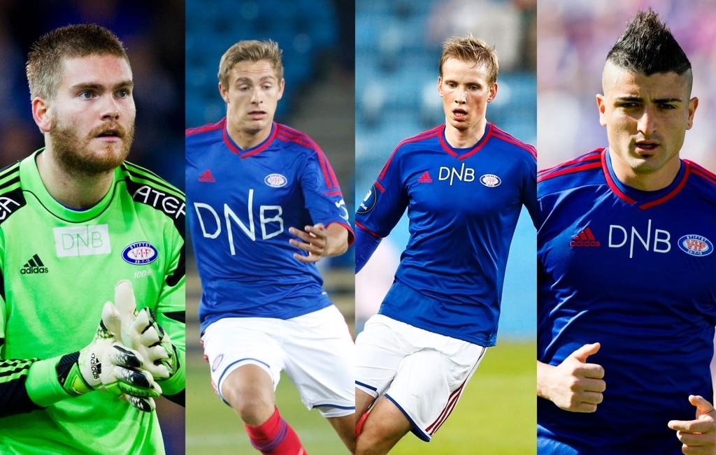 Gudmund Taksdal Kongshavn, Mathias Blårud, Simon Larsen og Diego Calvo er noen av spillerne som må overbevise Rekdal