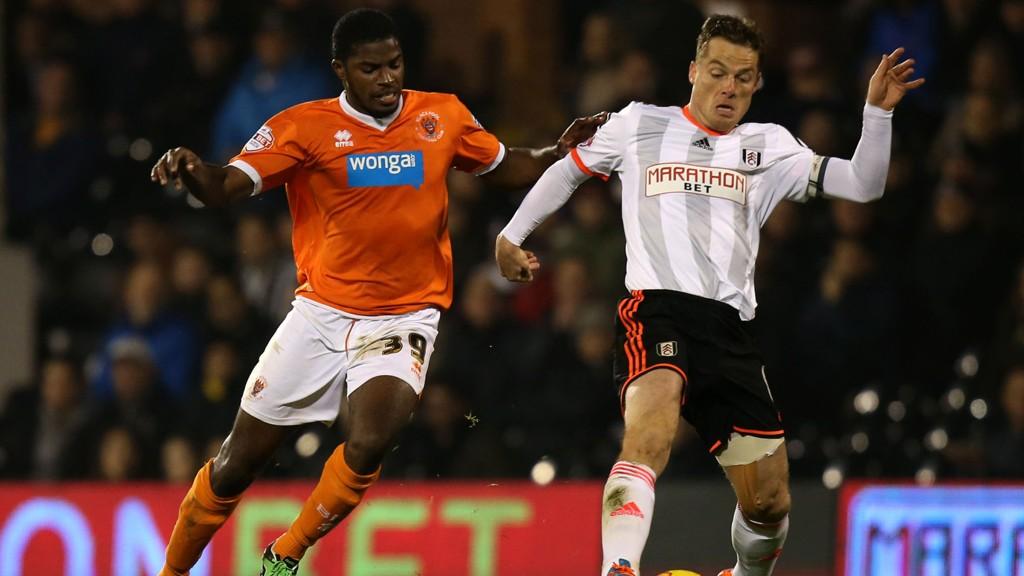 Fulham og Scott Parker maktet bare 2-2 mot Blackpool tirsdag tross gedigen dominans.