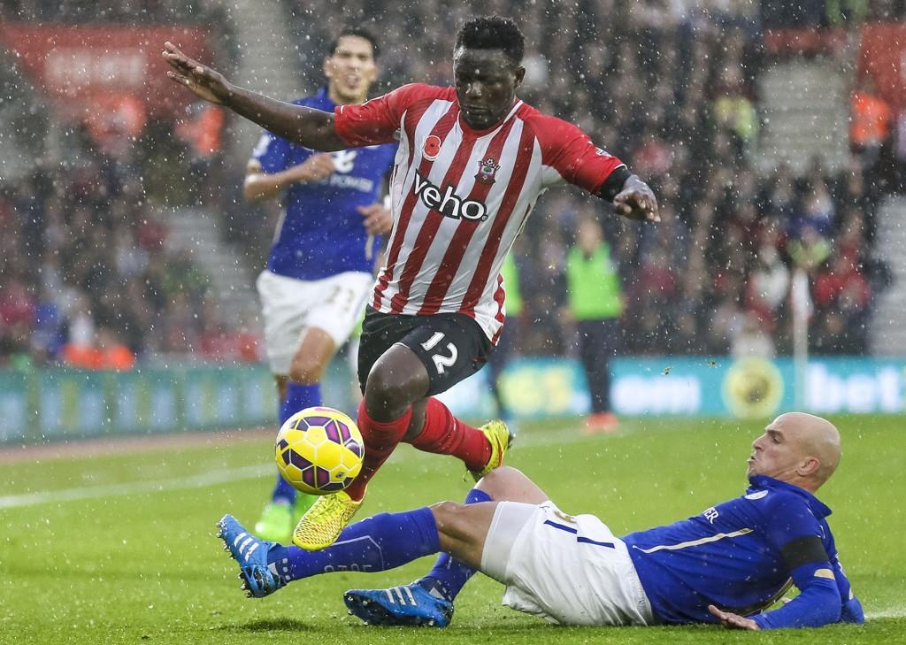 VANT: Victor Wanyama og Southampton vant hjemme mot Leicester.