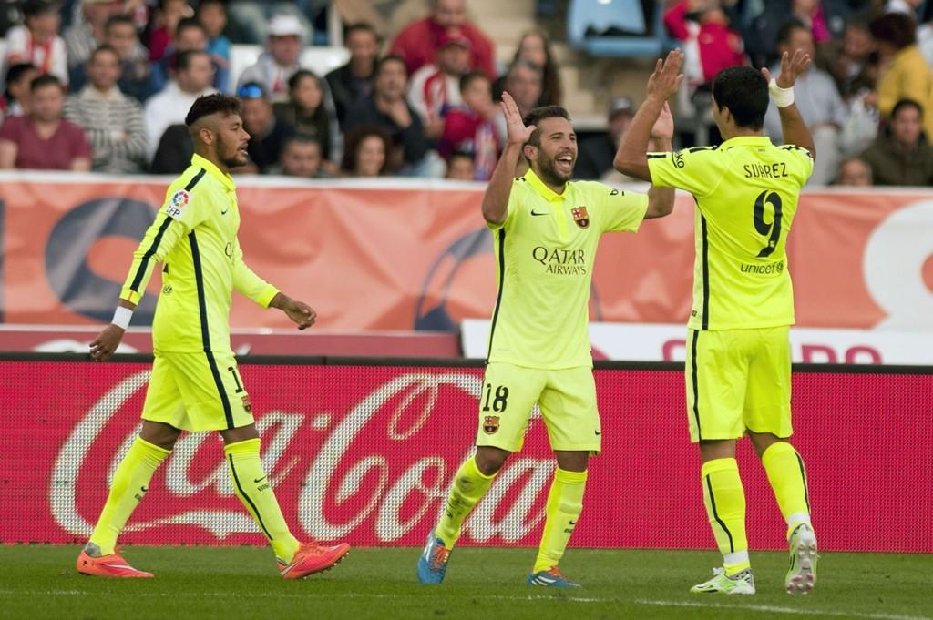 ASSIST: Luis Suarez hadde to målgivende pasninger da Barcelona vant 2-1.