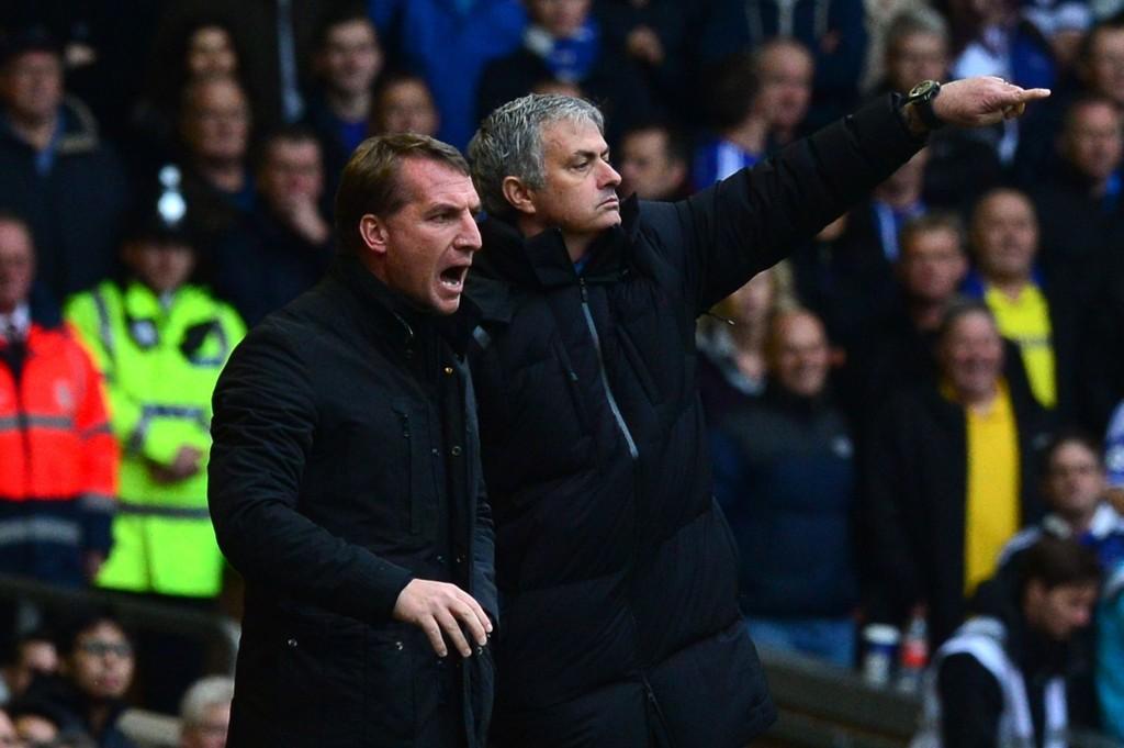 REFSER DOMMEREN: Brendan Rodgers er meget misfornøyd med et par av dommeravgjørelsene mot Chelsea.