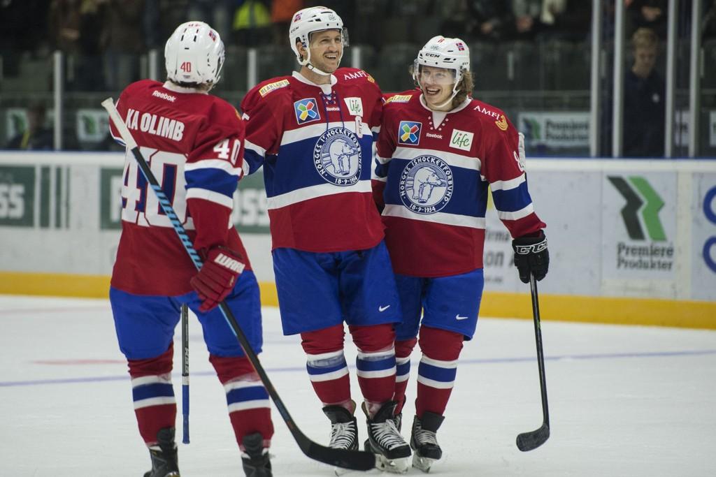 VANT: De norske hockeygutta vant firenasjonersturneringen i Stavanger, tross tap mot Danmark lørdag.