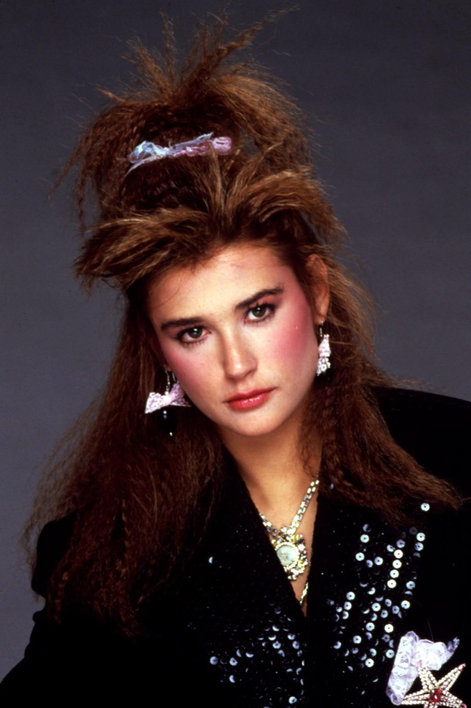 Demi Moore fra St. Elmo's Fire i 1985. Denne sveisen fikk jenter over hele verden til å grine seg til krepptang.