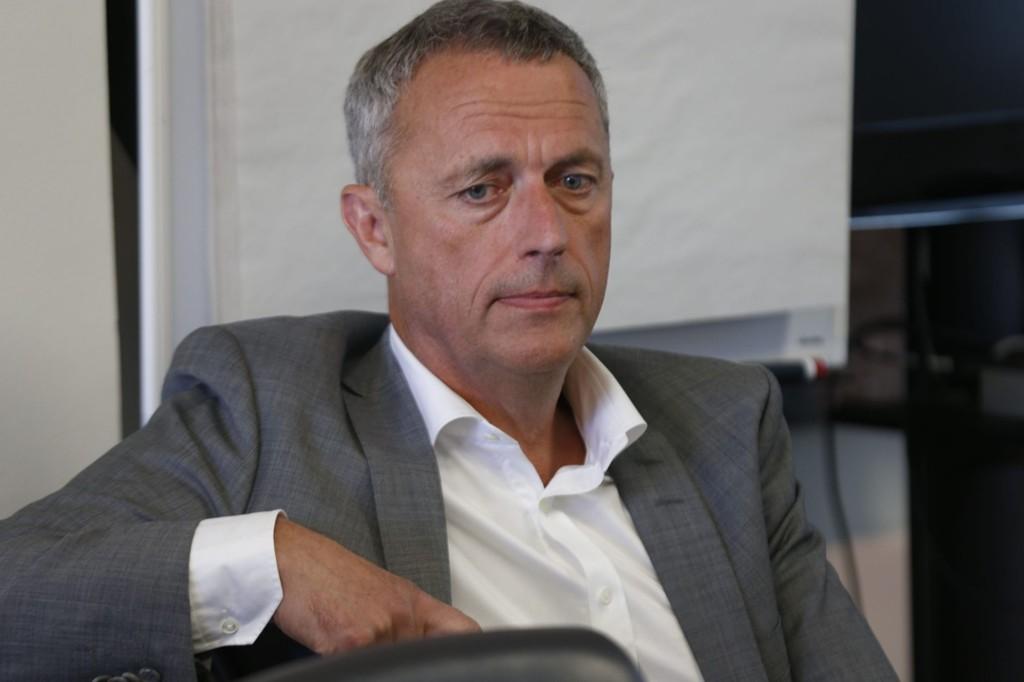 Konsernsjef Are Stokstad må konstatere at kampen om det nasjonale rubrkkmarkedet er tapt inntil videre.