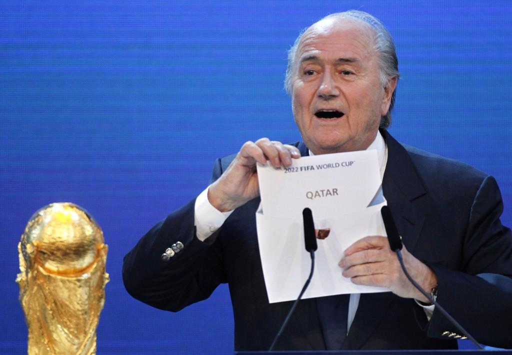 FORNØYD: Sepp Blatter og FIFA anser seg ferdig med granskingen av tildelingene av VM i 2018 og 2022.
