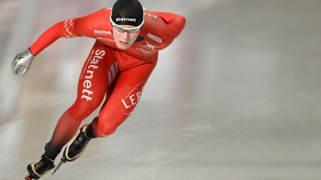 NUMMER ÅTTE: Sverre Lunde Pedersen.