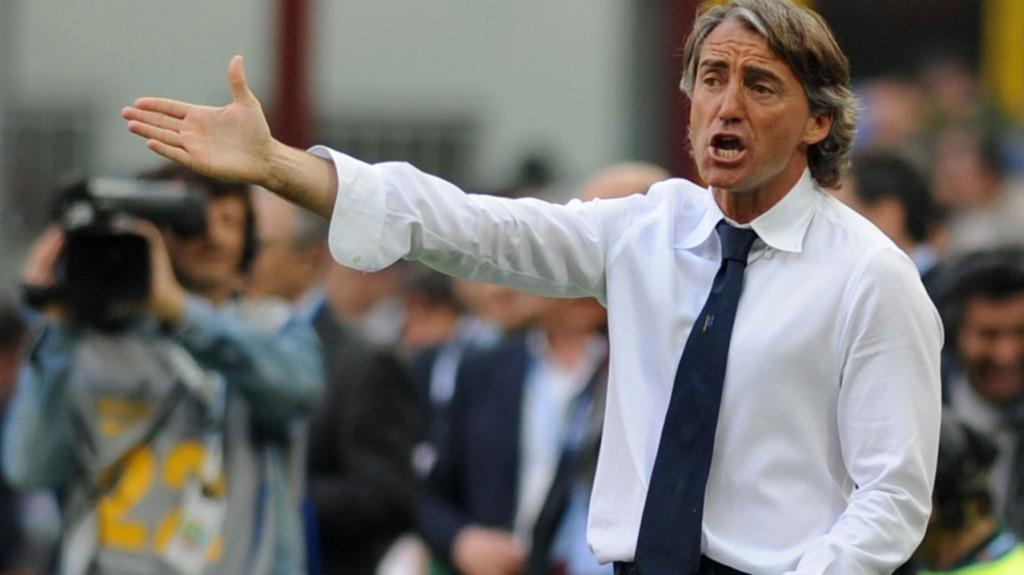 NY JOBB: Roberto Mancini er klar for Inter, melder den troverdige journalisten Gianluca Di Marzio.