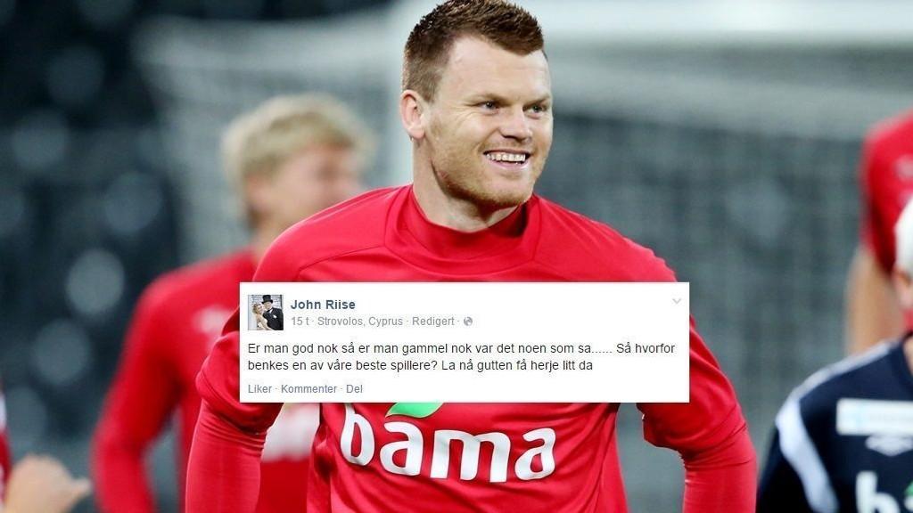 REAGERER: John Arne Riise mener Martin Ødegaard burde spilt mot Aserbajdsjan.