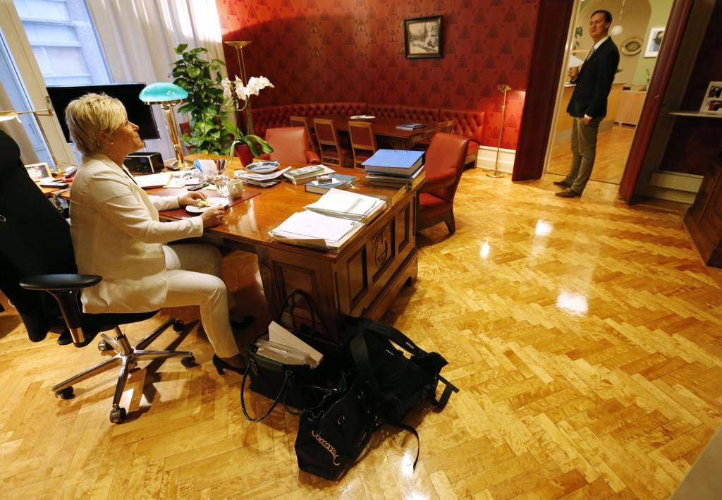 Statssekretær Ole Berget går fra Siv Jensen til First House.