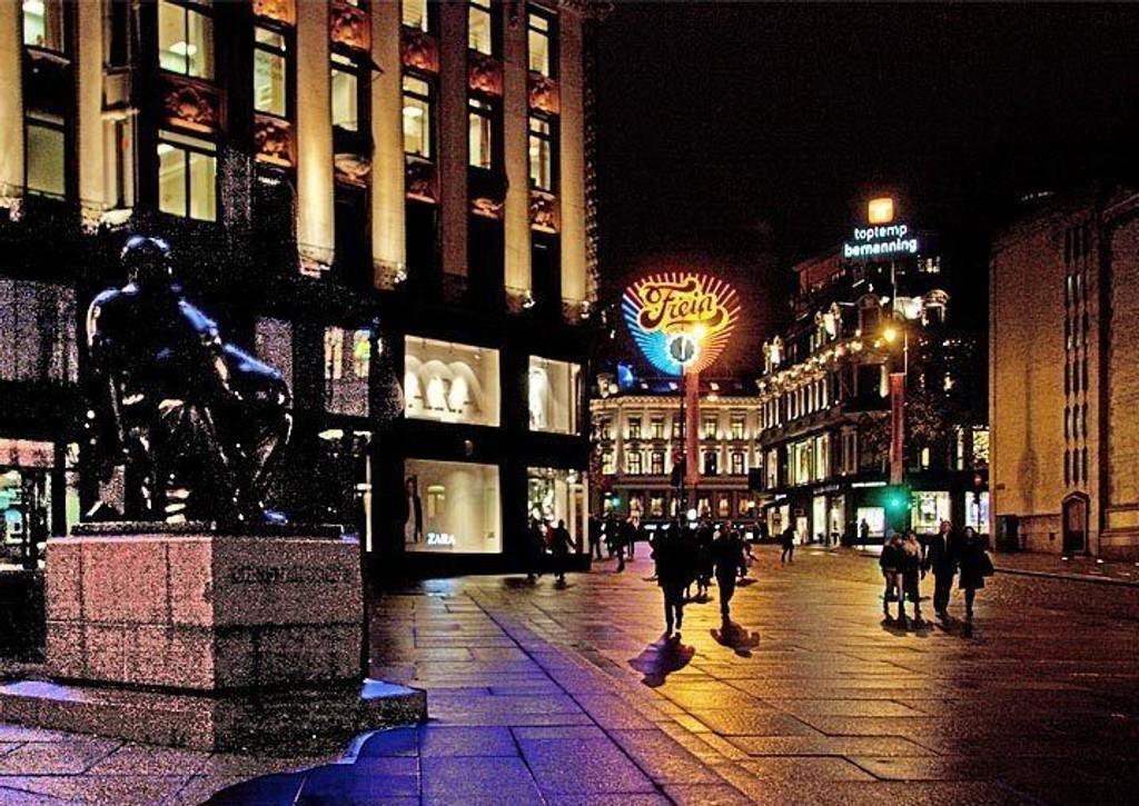 Fyll og bråk er årsaken til at mange kjenner seg utrygge i Oslo sentrum, spesielt i helgene.