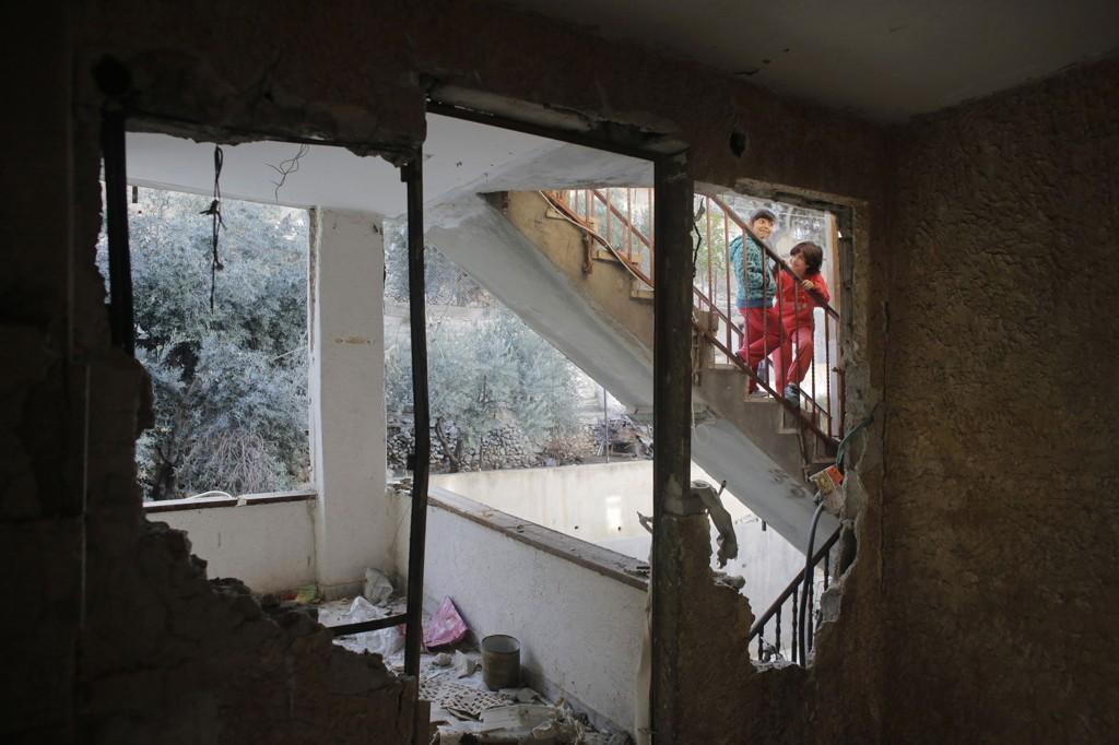 Onsdag ble huset til en mann som skal ha drept to personer i Jerusalem revet.
