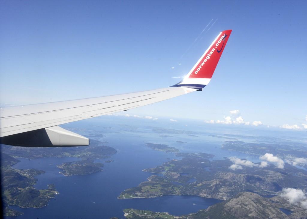 KUTTER: Norwegian kutter direkteruten fra Tromsø til London i sommerhalvåret.