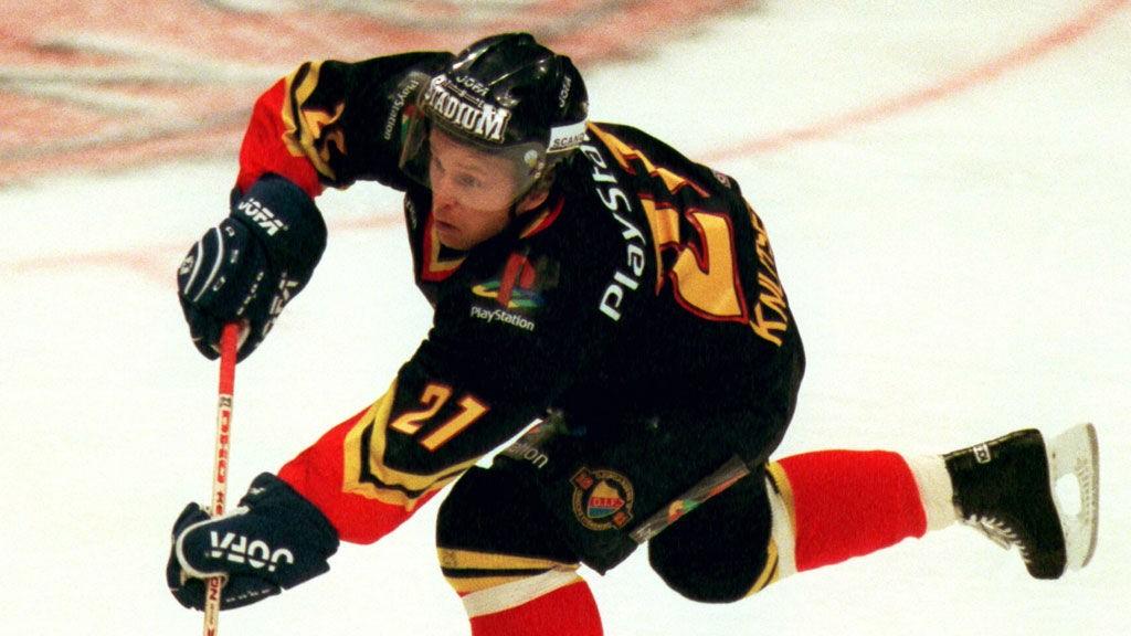 Espen Shampo Knutsen i aksjon den gangen han spilte for Djurgården.
