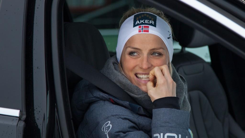 En livredd Therese Johaug bet negler før hun skulle opp i en imporvisert terrengløype i alpinanlegget på Beitostølen kvelden før fredagens seier i sesongåpningen.