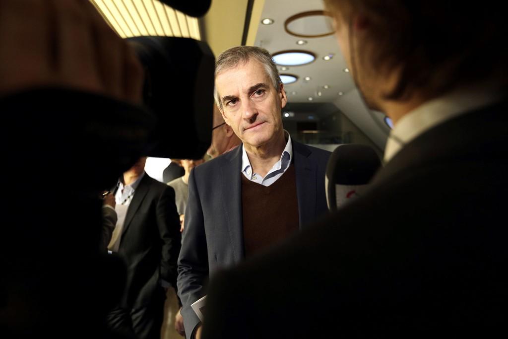 OPPTUR: Arbeiderpartiets leder Jonas Gahr Støre kan glede seg over en ny måling med over 40 prosents oppslutning.