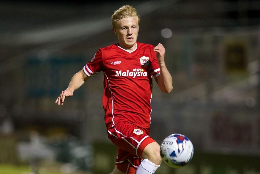 BYTTET INN: Mats Møller Dæhli fikk drøye 20 minutter for Cardiff mot Reading.
