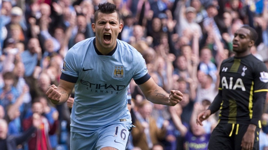 Sergio Aguero er den eneste Manchester City-angriperen som har holdt normalt nivå i høst.