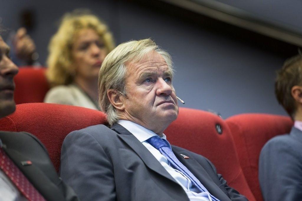 Motstanden fra deler av Kongrssen i USA mot Norwegians planer om å fly til og fra USA fortsetter. På bildet NOrwegian-sjef Bjørn Kjos.